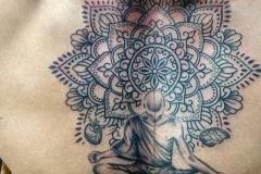 Praying-Monk-Tattoo