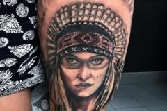 American-Indian-tattoo