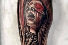 Horro-Leg-Tattoo