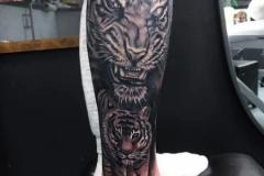 tiger-leg-tattoo