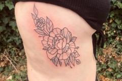 Floral-rib-tattoo