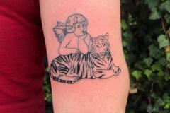 lion-and-angel-tattoo