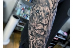 lion-tattoo-in-the-arm