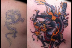 Dragon Cover-up